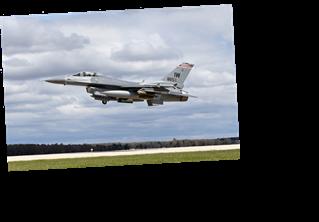 F-16 fighter jet crashes in Michigan's Upper Peninsula