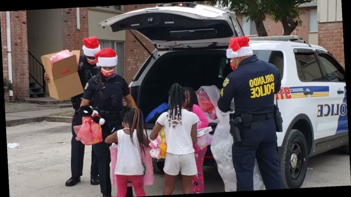 Orlando PD donates, delivers Christmas gifts to more than 200 kids in need
