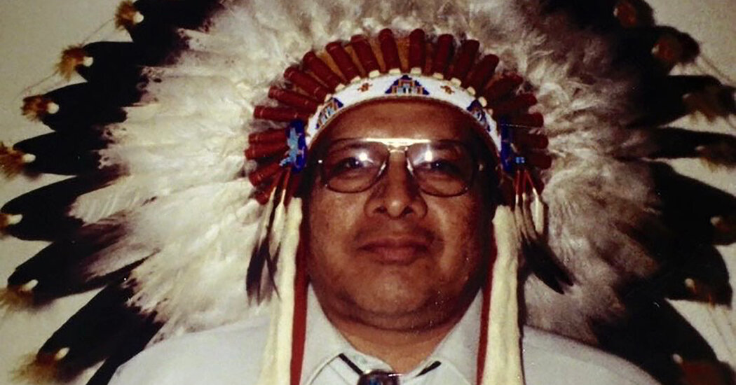 Rev. Wilbert Robertson, Native American Pastor, Dies at 86
