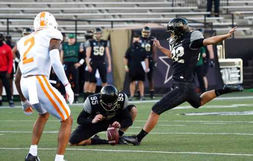 Vandy's Sarah Fuller becomes first woman to score in a Power Five football game