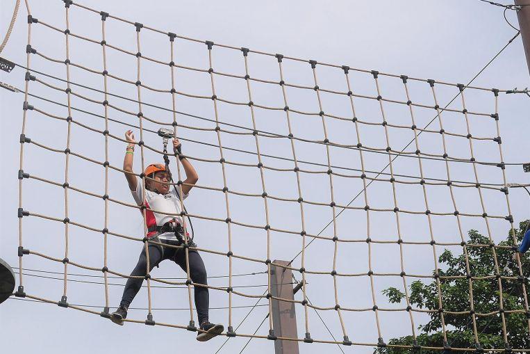 Helping teenage girls scale new heights