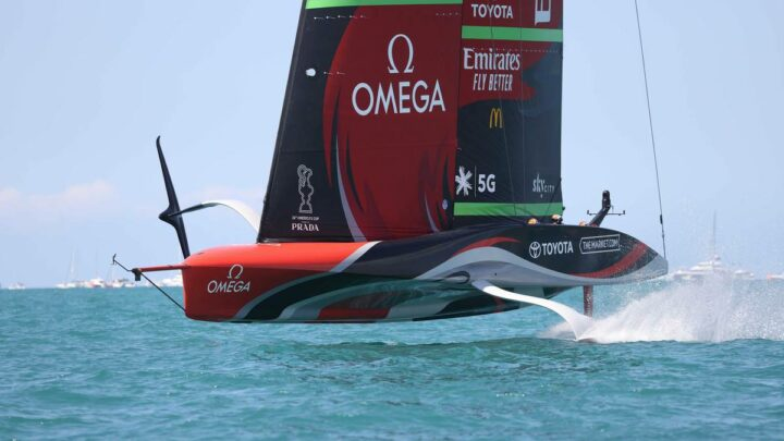 America's Cup 2021: Team New Zealand cracked 100kmh barrier – report