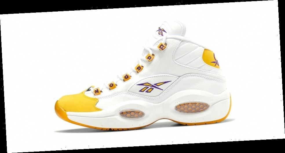"""The Reebok Question Mid """"Yellow Toe"""" Is Set for a Release on New Year's Eve"""