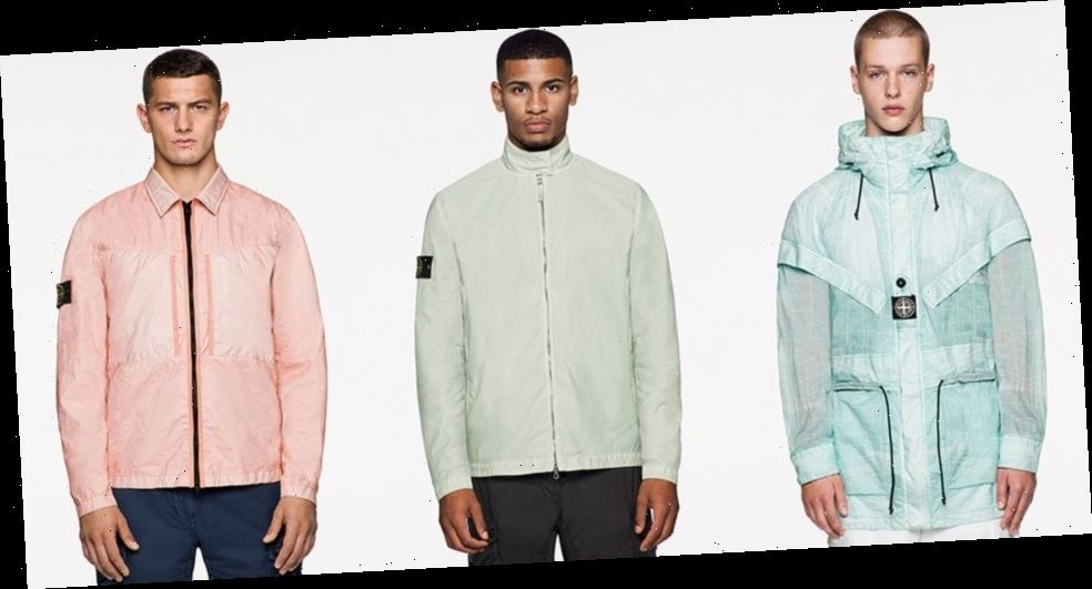 Stone Island Previews Brightly-Colored and Technical SS21 Outerwear
