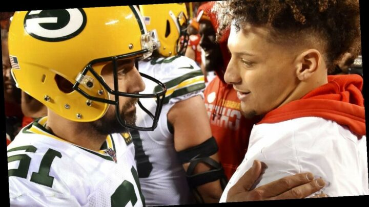 Rodgers passes Mahomes as favorite to be MVP