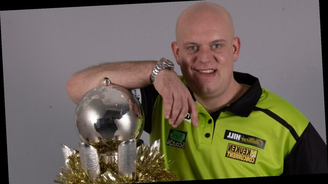 PDC World Darts Championship, 2020/21: Michael van Gerwen, Peter Wright and Gerwyn Price chase title and No 1 ranking