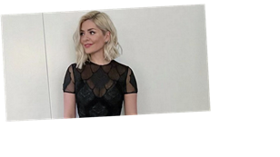 Holly Willoughby stuns in beautiful black gown for Dancing On Ice after Ofcom outrage