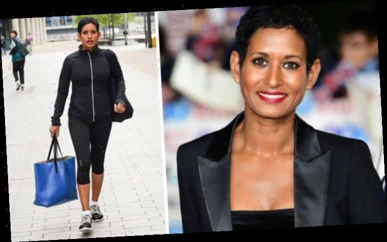 Naga Munchetty: BBC Breakfast host worries fans as she posts about 'first day in new job'