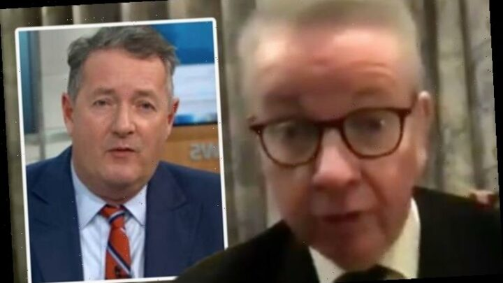 Piers Morgan slams Gove over delay in airport testing 'Should have protected OUR borders!'