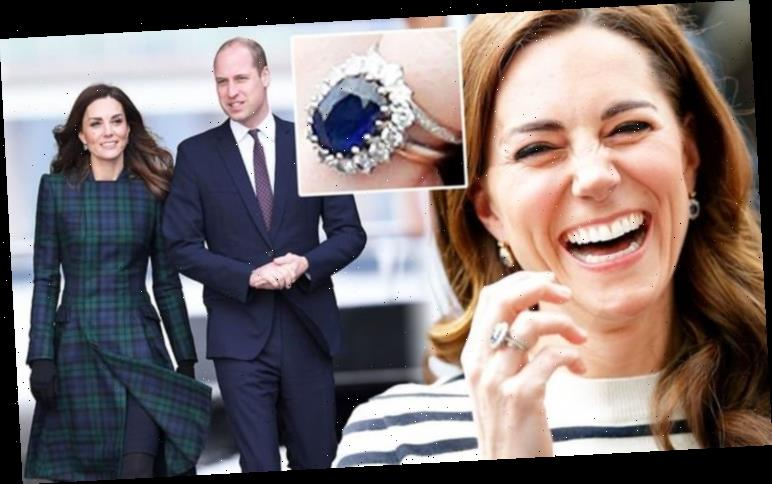 Kate Middleton given £2,000 ring from William with 'enormously romantic' meaning
