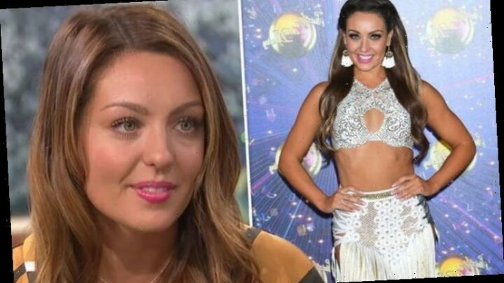 Strictly pro Amy Dowden hospitalised after 'nasty' Crohn's disease flare-up in lockdown