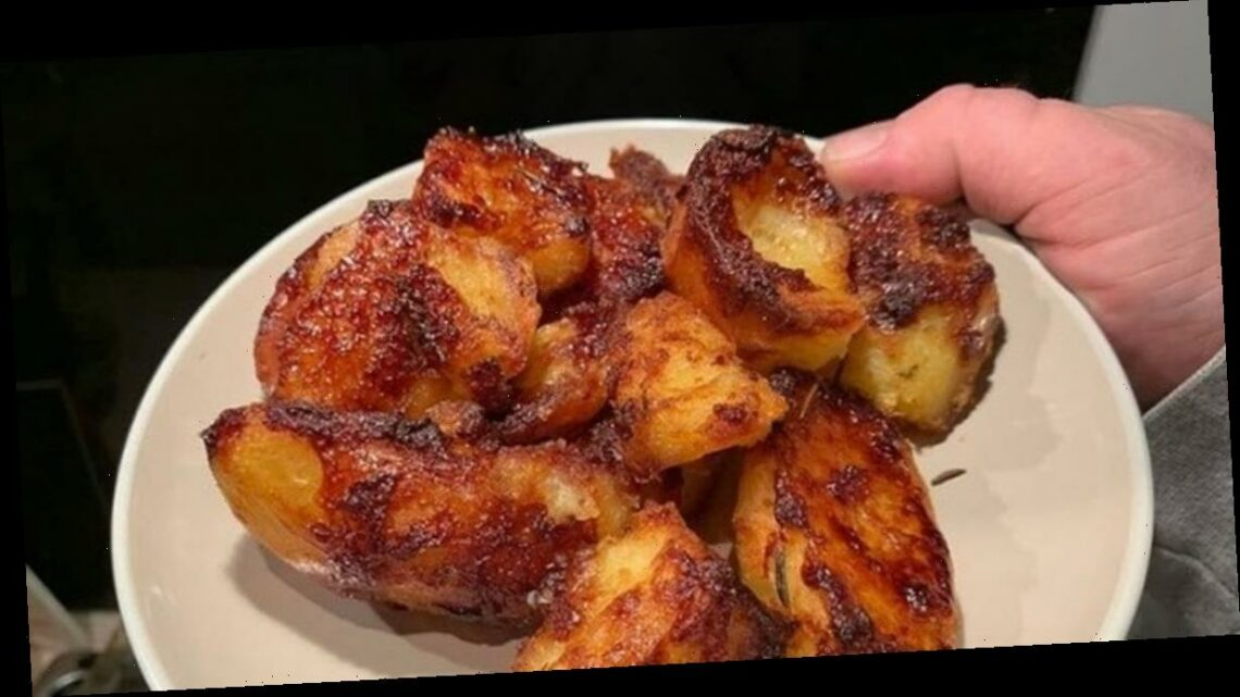 Home cook's Marmite hack gets roast potatoes perfectly crispy every time