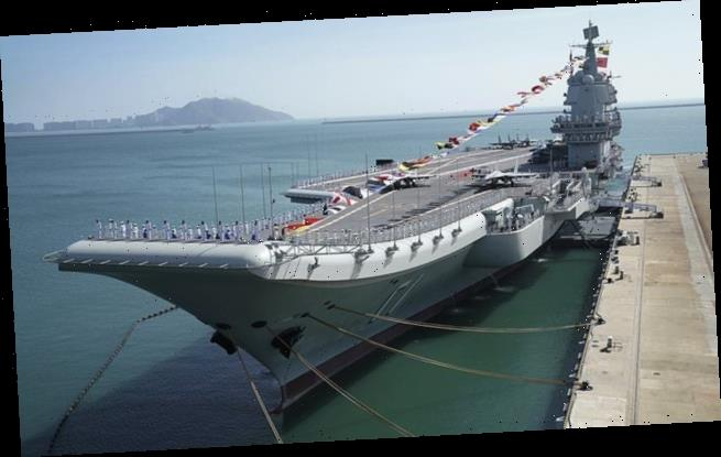 China's THIRD aircraft carrier 'could be launched this year'