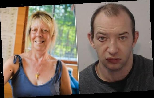 Thug, 40, broke innocent businesswoman's jaw, nose and ribs
