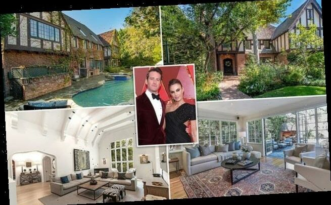 Armie Hammer and ex Elizabeth Chambers DROP price on $5.8million home