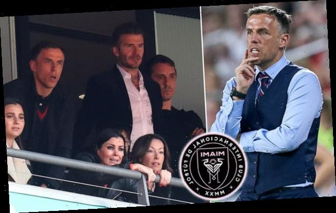 Phil Neville to become new manager of David Beckham's Inter Miami