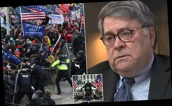Bill Barr says election fraud claims 'precipitated' Capitol riot