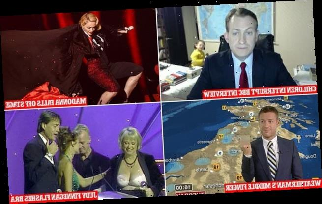The most hilarious live TV blunders of all time are revealed