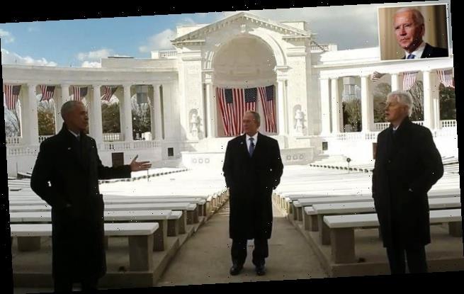 Three former presidents unite to wish Joe Biden well