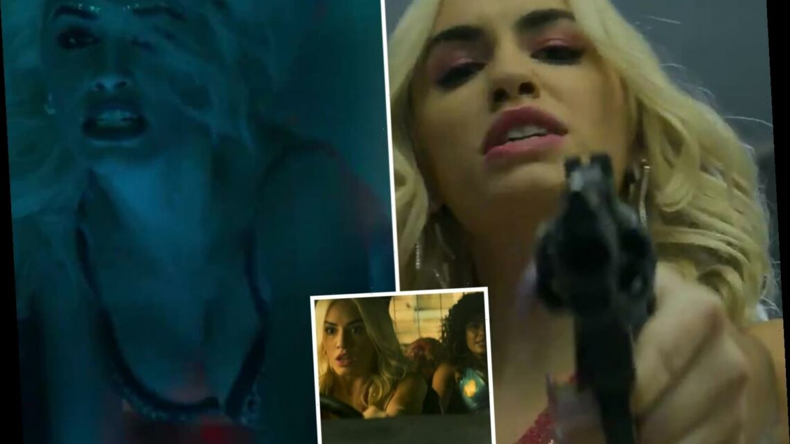 Netflix fuses strippers, gunfights and explosive car chases in wild first trailer for Sky Rojo from Money Heist creator