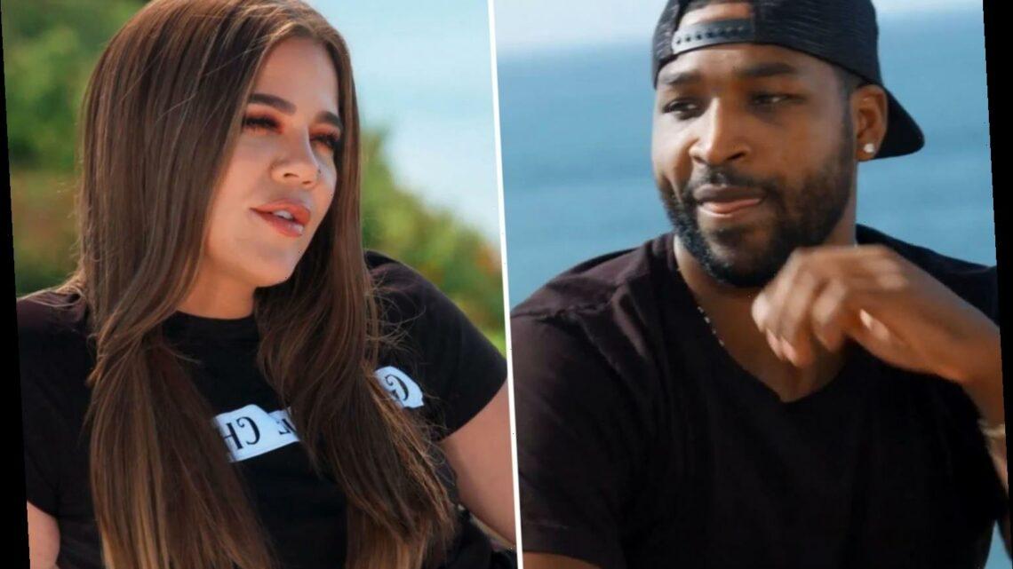 Khloe Kardashian begs her on/off boyfriend Tristan Thompson for another baby in KUWTK trailer