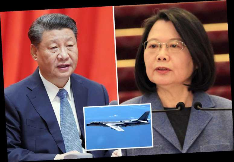 China warns Taiwan independence bid 'means war' that could drag US into conflict after Beijing flew in fighter jets