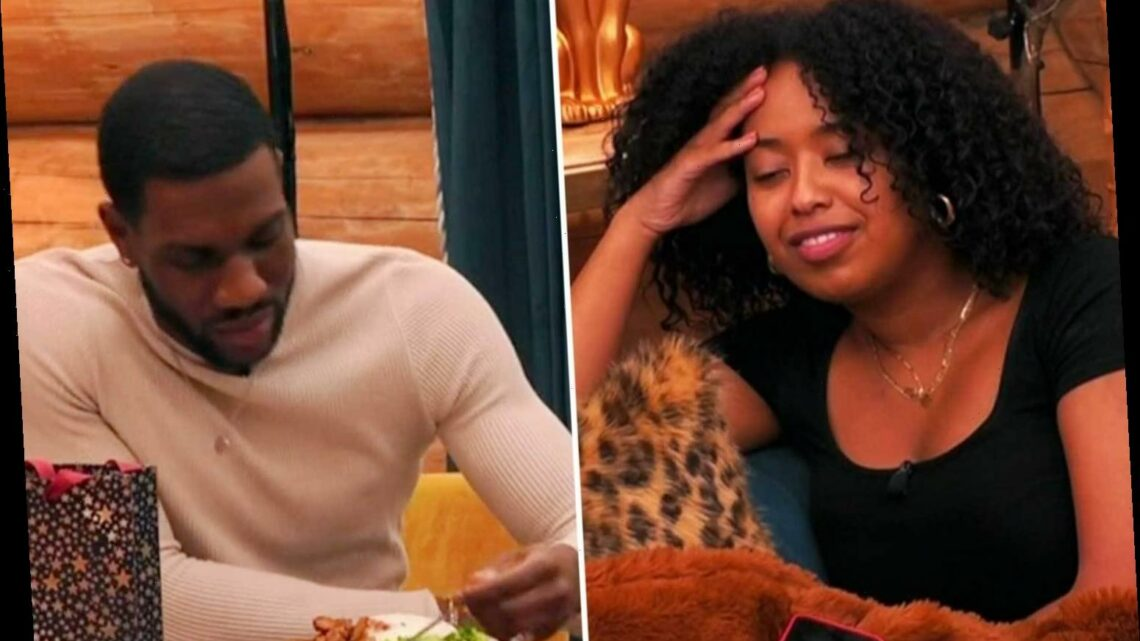 The Cabins viewers horrified as Terelle cooks dinner for one – leaving Amani to make her own food