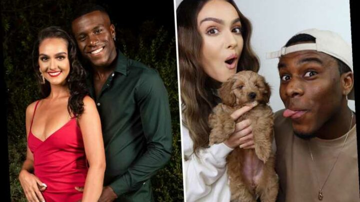 Love Island's Siannise Fudge and Luke T reveal their new puppy Nala – one year after meeting on show