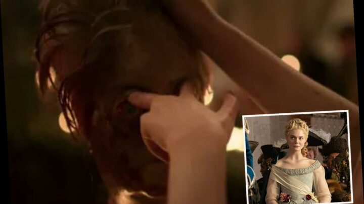 The Great leaves viewers DISGUSTED with revolting eye-gouging scene as fans claim episode should come with warning