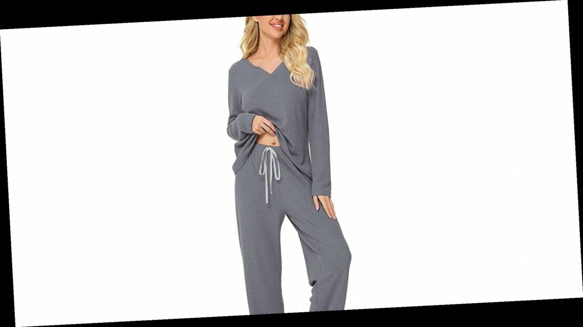 Upgrade Your Loungewear With This Matching 2-Piece Set