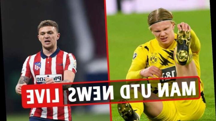 1.30pm Man Utd transfer news LIVE: Haaland 'to leave Dortmund', Trippier deal 'depends on ban', Pogba 'top PSG target'