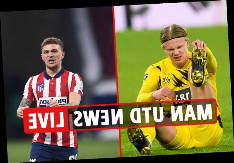 1.30pm Man Utd transfer news LIVE: Haaland 'to leave Dortmund', Trippier deal 'depends on ban', Pogba 'top PSG target'