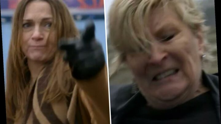 EastEnders fans overjoyed as Shirley Carter brutally beats paedo Katy Lewis up after discovering she abused son Mick