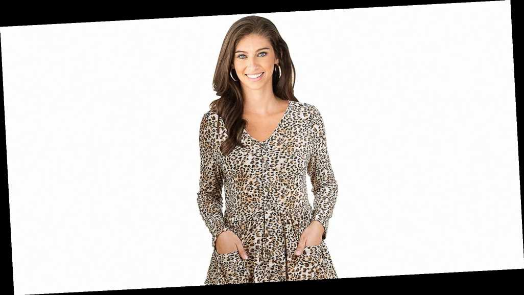 This Leopard-Print Tunic Top Will Carry You Into Spring With Ease