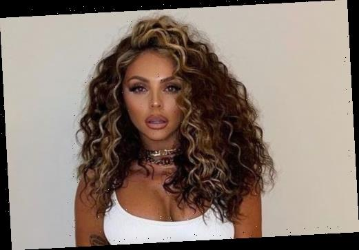 Jesy Nelson shows off her killer abs and wild hair as she starts the new year without Little Mix