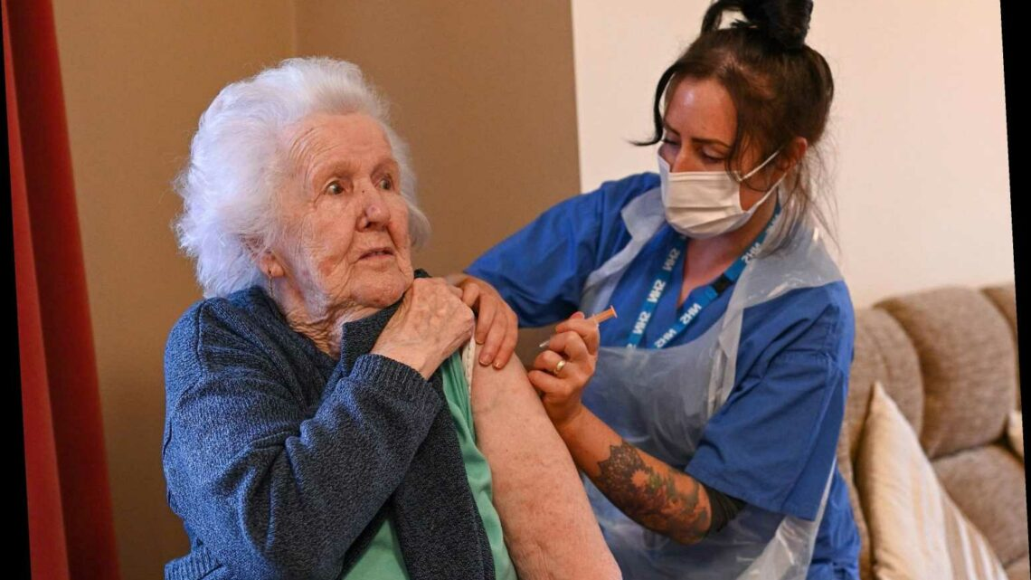Five million over-70s to 'begin receiving invitations for Covid jabs next week' as Government ramps up roll-out