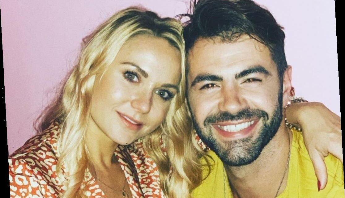 Hollyoaks' David Tag reveals girlfriend Abi is pregnant as pals share their joy