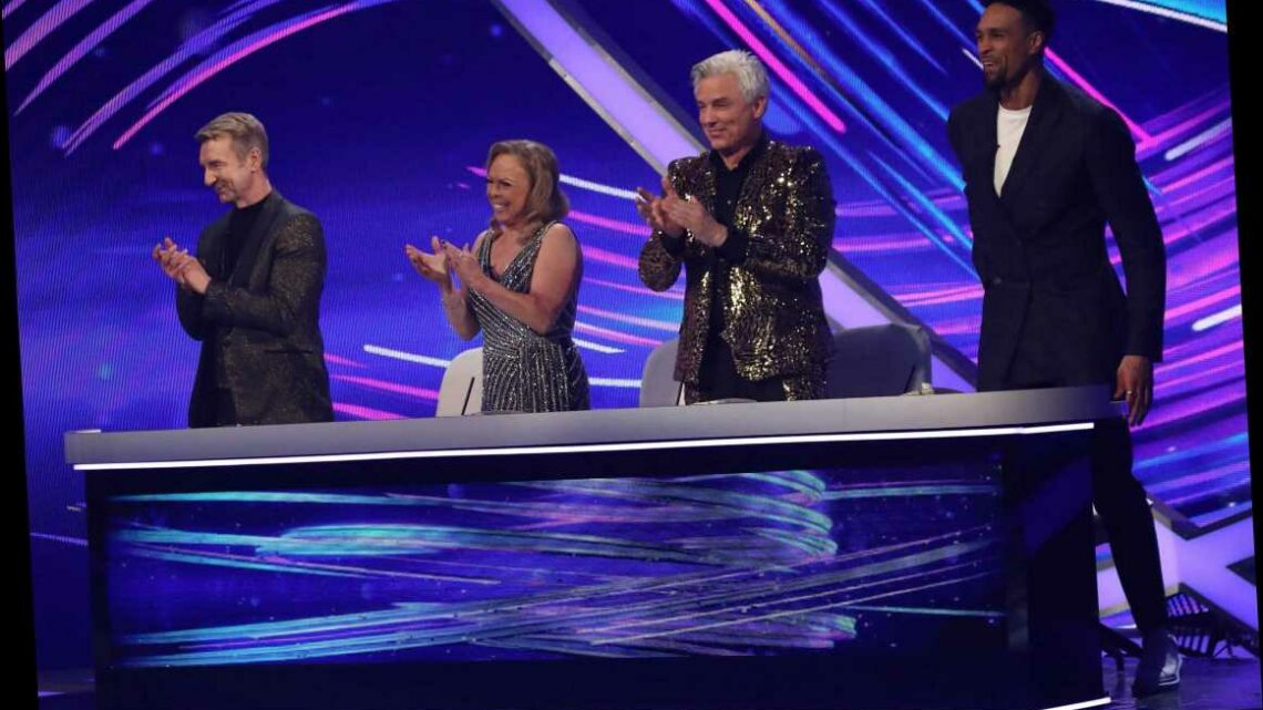 Who are the Dancing on Ice 2021 professional skaters?