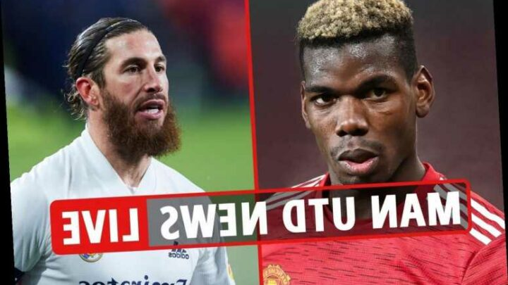 9.30pm Man Utd transfer news LIVE: Sergio Ramos bid urged, Pogba 'top PSG target', Soumare and Aarons scouted
