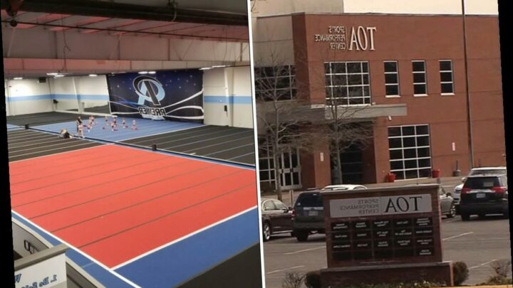 Hidden GoPro with recordings of SIXTY young girls found in changing room at Tennessee sports center