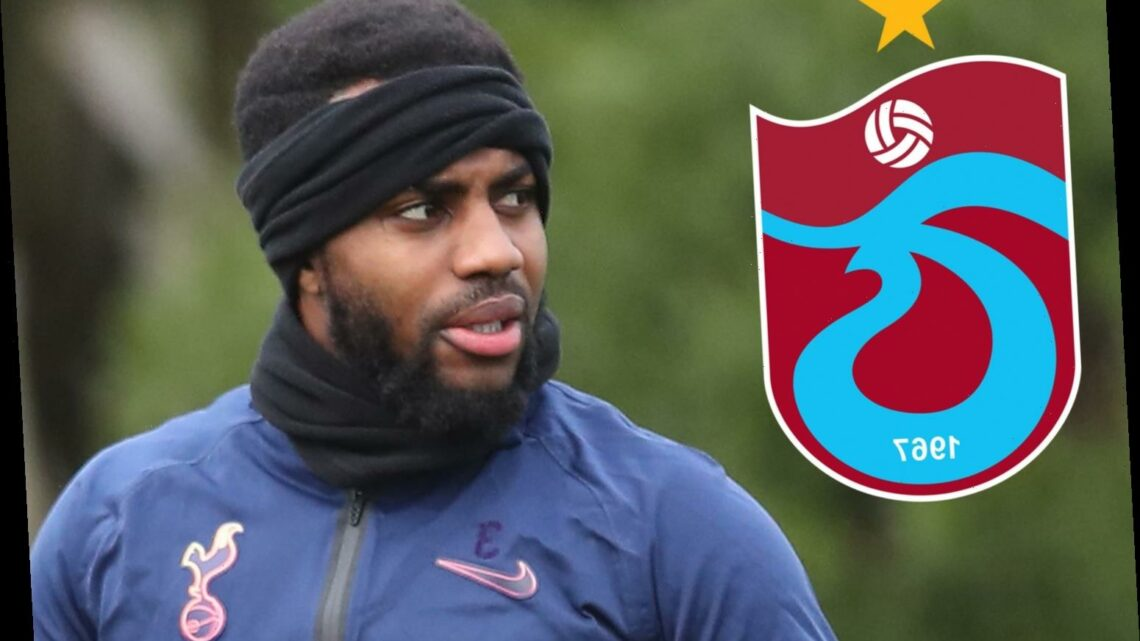 Tottenham outcast Danny Rose eyed by Turkish side Trabzonspor over transfer with full-back out of Jose Mourinho's plans