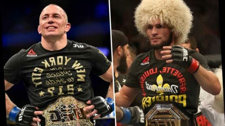 Georges St-Pierre admits Khabib fight still 'freaking excites' him ahead of Dana White's crunch talks with UFC star