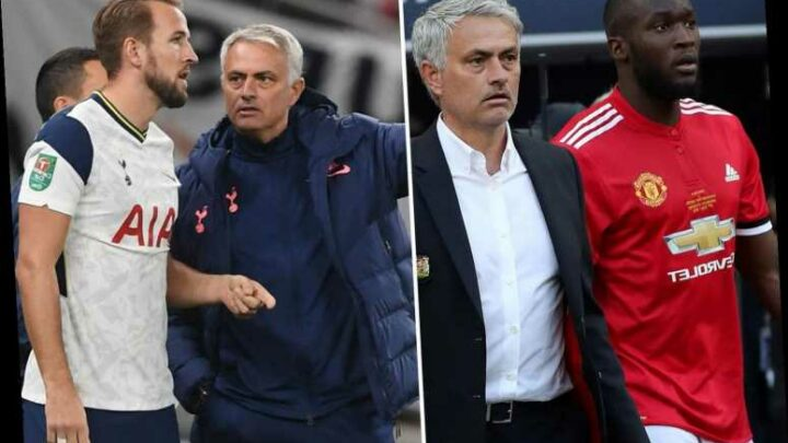 Lukaku claims Mourinho is teaching Kane to be team player just like him and rates himself in top five strikers in world