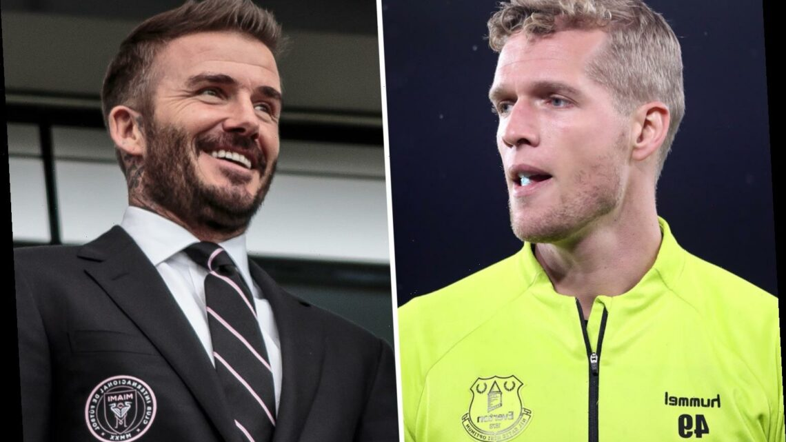 David Beckham's Inter Miami in talks to sign Everton keeper Jonas Lossl on transfer ahead of new MLS season