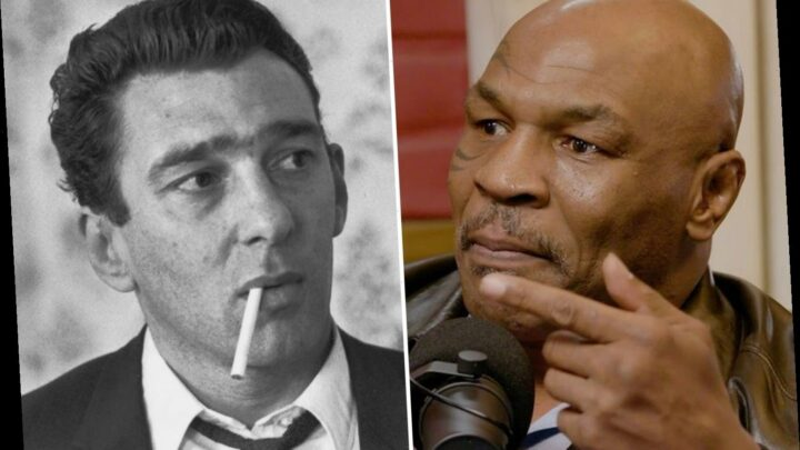 Mike Tyson reveals he was almost deported from UK for visiting Reggie Kray's family after writing to gangster in prison