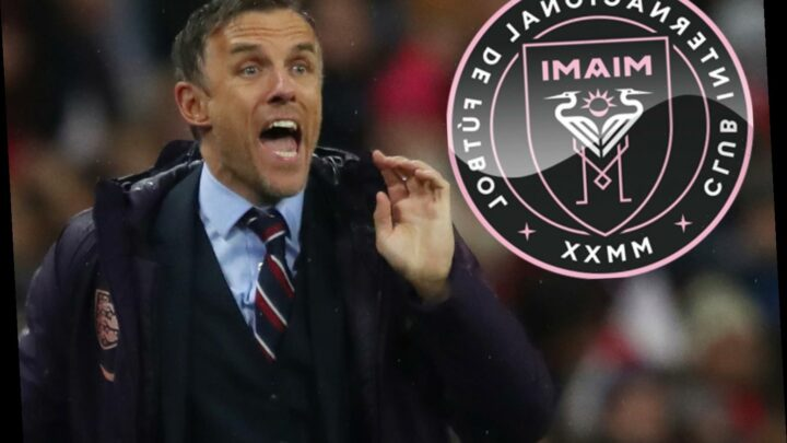 Phil Neville step closer to being appointed Inter Miami new boss by David Beckham after manager Diego Alonso is sacked