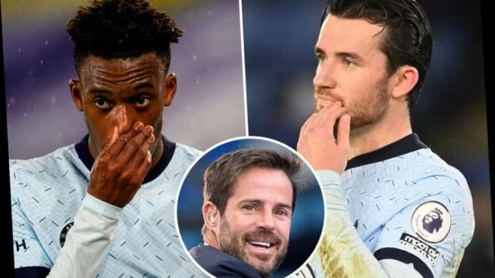 Jamie Redknapp slams 'soft' Chelsea flops as he singles out Hudson-Odoi and Chilwell after Leicester loss