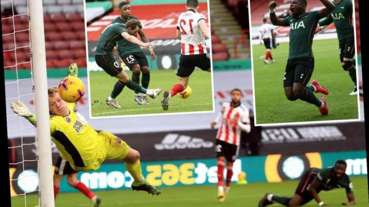 Sheff Utd 1 Tottenham 3: Spurs jump to fourth in Premier League as Blades edge closer to relegation with another loss