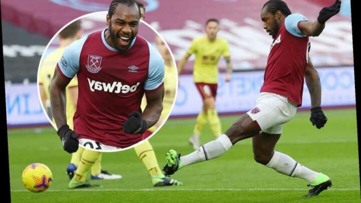 West Ham 1 Burnley 0: Michail Antonio sinks Clarets with early goal in tense affair