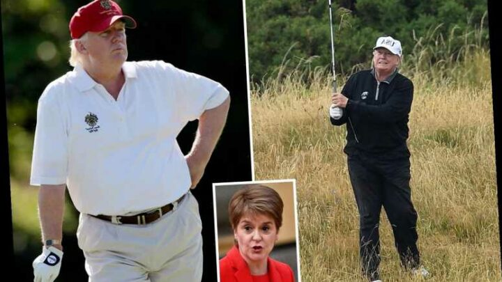 Trump won't be allowed into Scotland to escape Biden inauguration as golf is 'not essential,' leader Sturgeon warns